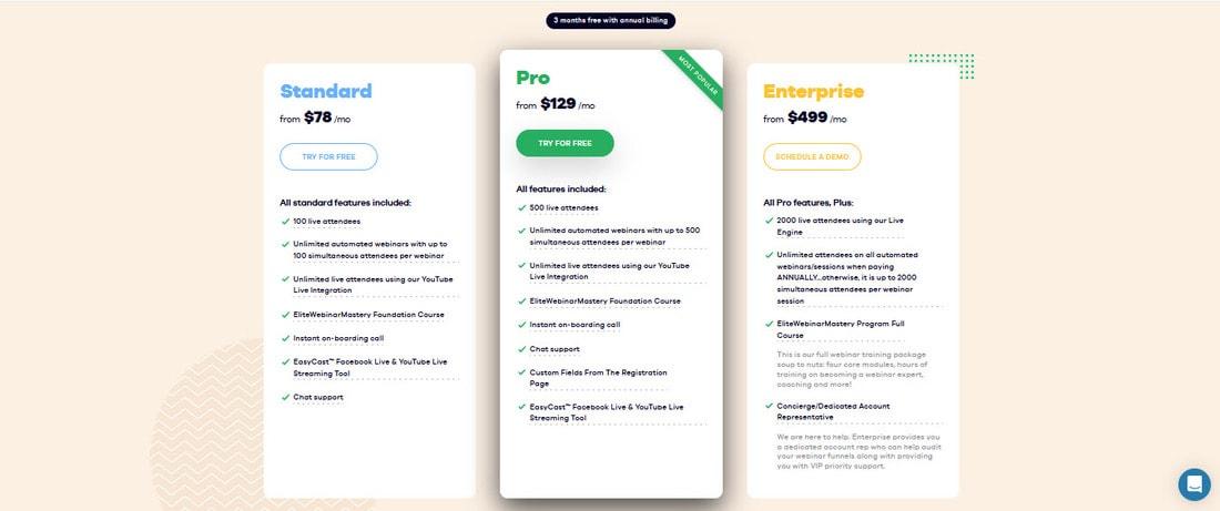 easywebinar pricing