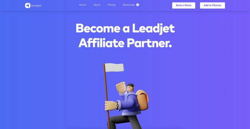 leadjet affiliate program