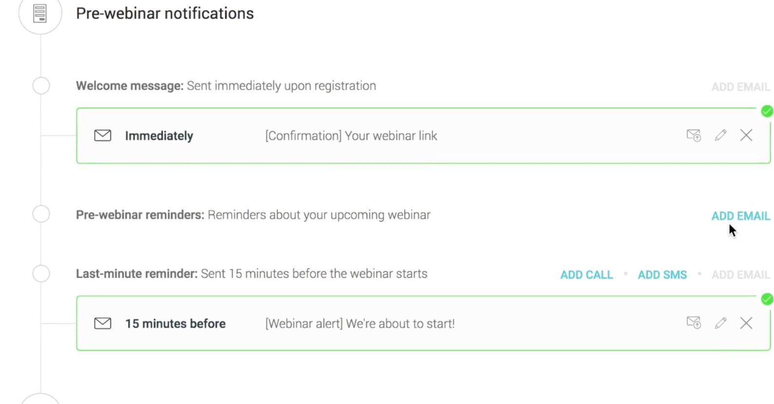 WebinarJam Email Integration