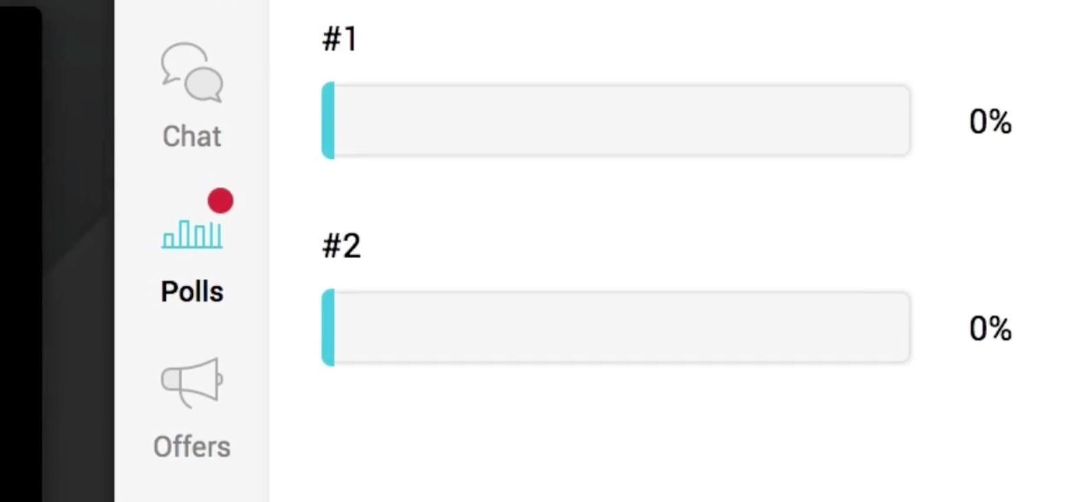 WebinarJam Poll Function