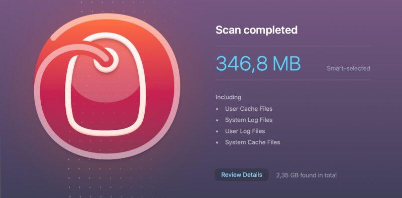 disk junk cleanmymac scan