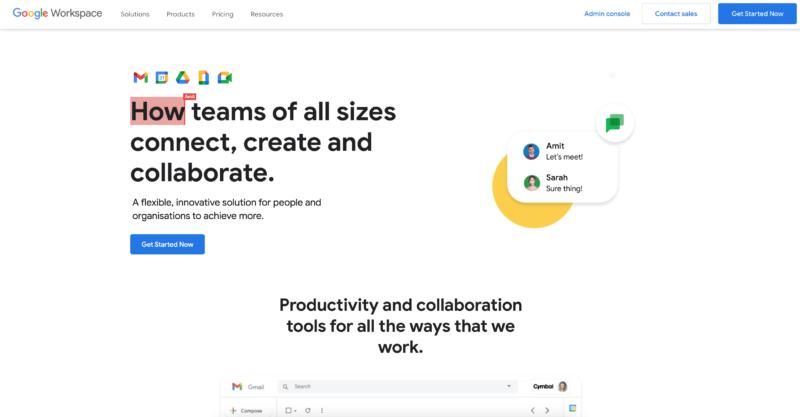 google workspace 2