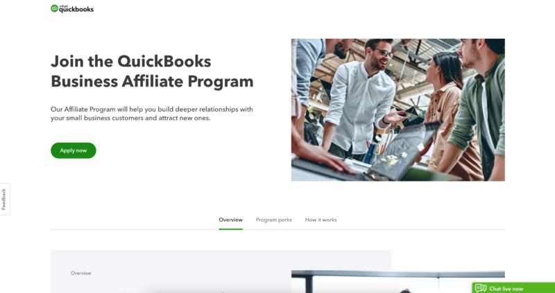 quickbooks affiliate program